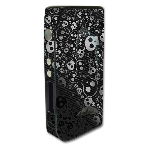 Skulls Pattern Denim Look Pioneer4You iPV5 200w Skin