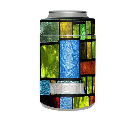 Colorful Stained Glass Yeti Rambler Colster Skin