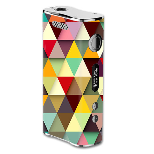 Colorful Triangles Pattern eLeaf iStick 100W Skin