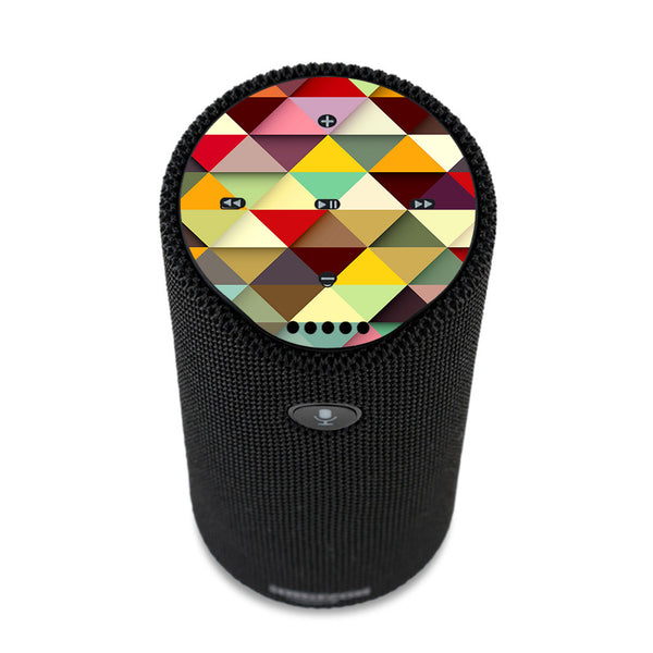 Colorful Triangles Pattern Amazon Tap Skin