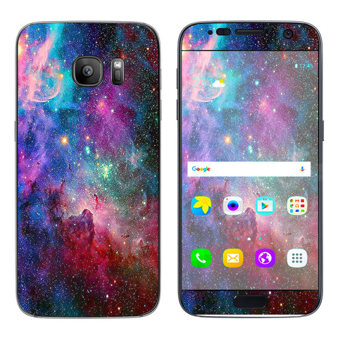 Colorful Space Gasses Samsung Galaxy S7 Skin