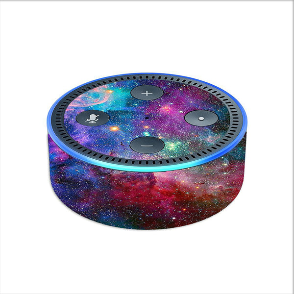 Colorful Space Gasses Amazon Echo Dot 2nd Gen Skin