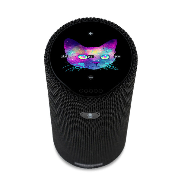 Colorful Galaxy Space Cat Amazon Tap Skin