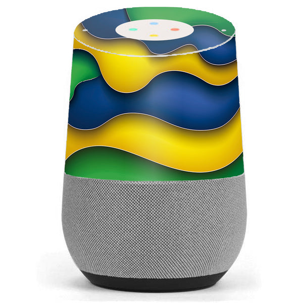 Dripping Colors Brazil Google Home Skin