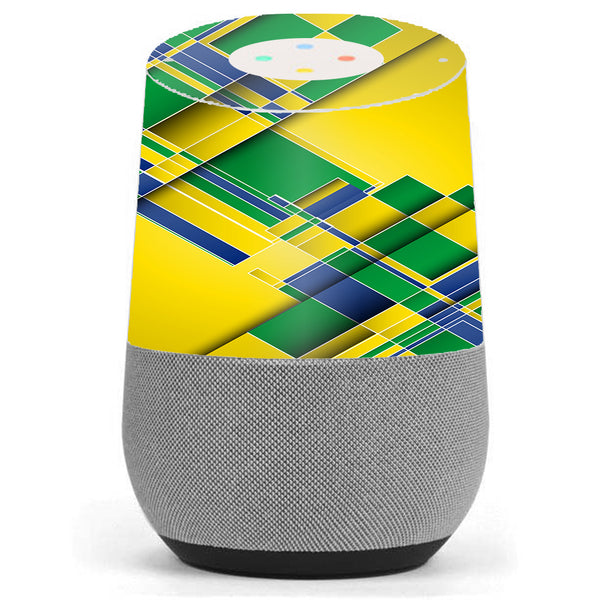 Brazil Tech Colors Google Home Skin