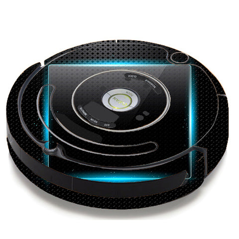 Glowing Blue Tech iRobot Roomba 650/655 Skin