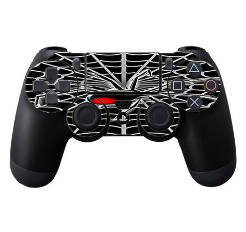 Black Widow Spider Web Sony Playstation PS4 Controller Skin