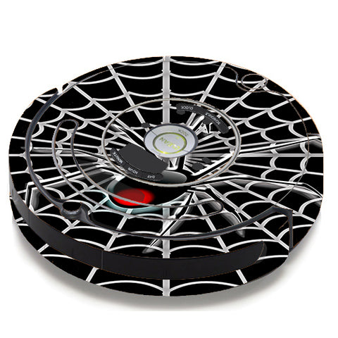 Black Widow Spider Web iRobot Roomba 650/655 Skin