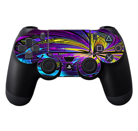 Purple Beautiful Design Sony Playstation PS4 Controller Skin
