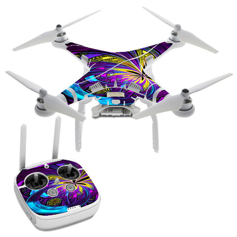 Purple Beautiful Design DJI Phantom 3 Professional Skin