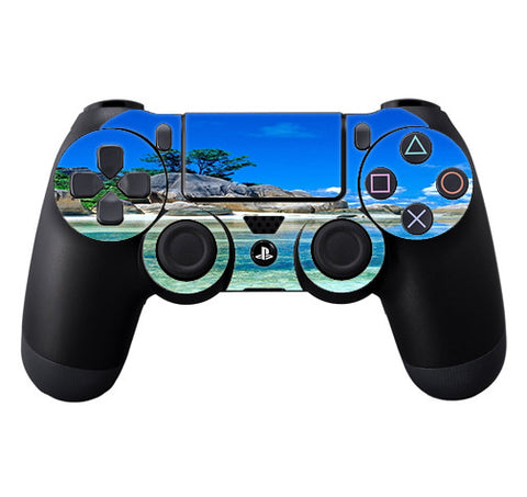 Island Paradise Beach Sony Playstation PS4 Controller Skin