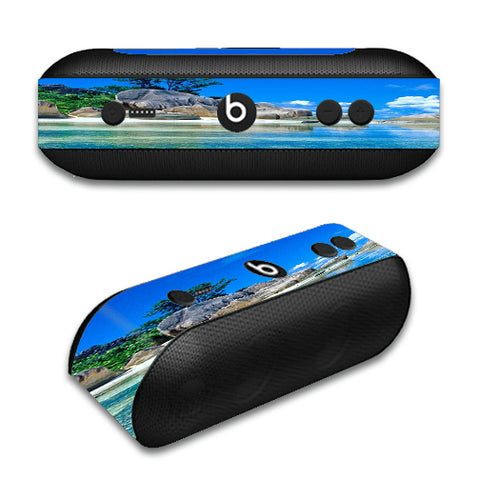 Island Paradise Beach Beats by Dre Pill Plus Skin