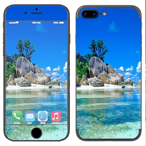 Island Paradise Beach Apple  iPhone 7+ Plus / iPhone 8+ Plus Skin