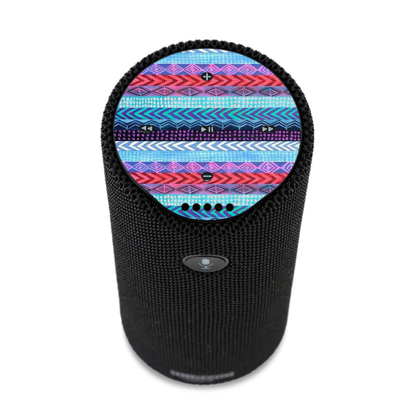 Aztec Blue Tribal Chevron Amazon Tap Skin