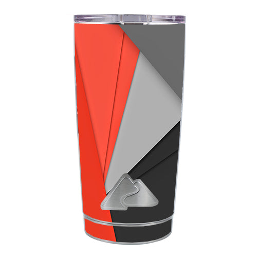 Orange And Grey Ozark Trail 20oz Tumbler Skin