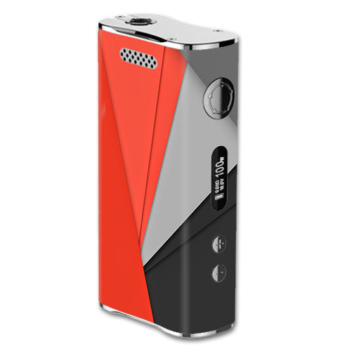 Orange And Grey eLeaf iStick 100W Skin
