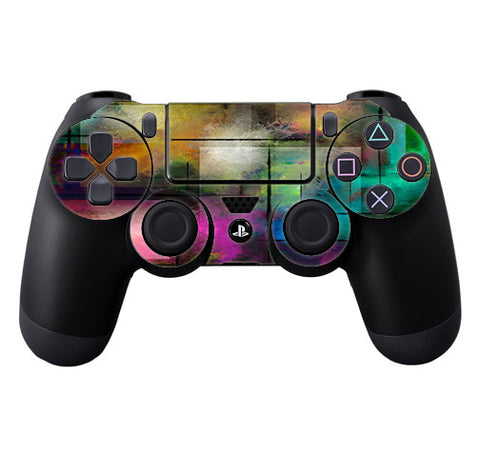 Colorful Paint Modern Sony Playstation PS4 Controller Skin