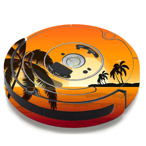 Palm Trees At Sunset iRobot Roomba 650/655 Skin