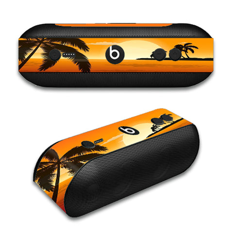 Palm Trees At Sunset Beats by Dre Pill Plus Skin