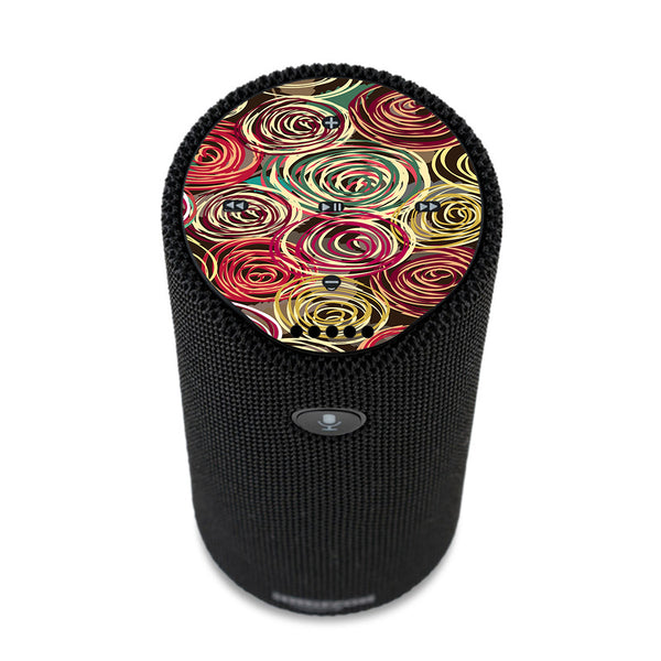 Round Swirls Abstract Amazon Tap Skin