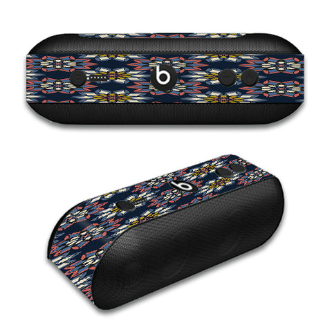 Retro Flowers Pattern Beats by Dre Pill Plus Skin