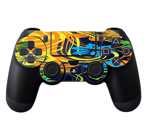 Tropical Flowers Sony Playstation PS4 Controller Skin