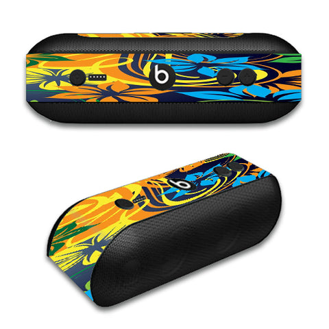 Tropical Flowers Beats by Dre Pill Plus Skin