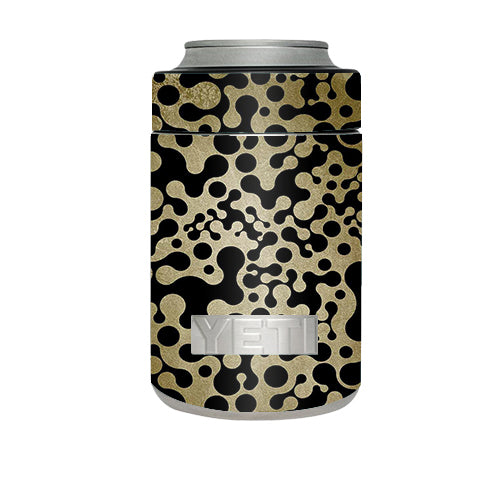 Abstract Trippy Pattern Yeti Rambler Colster Skin