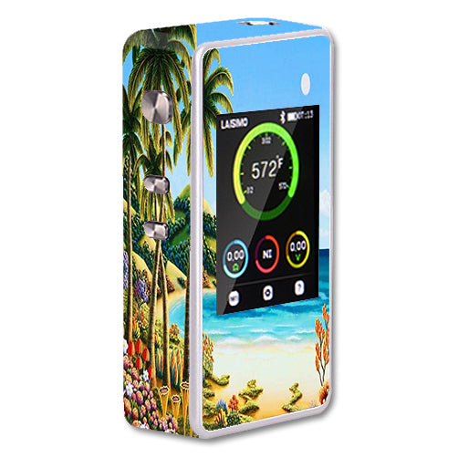 Beach Water Palm Trees Laisimo L1 200w TC Skin