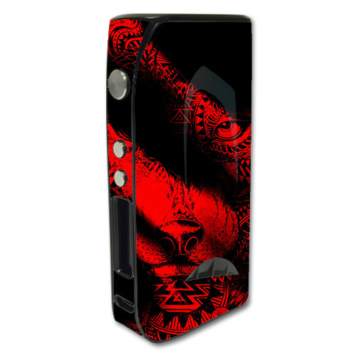 Aztec Lion Red Pioneer4You iPV5 200w Skin