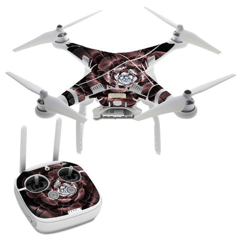 Abstract Rose Flower DJI Phantom 3 Professional Skin