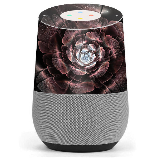 Abstract Rose Flower Google Home Skin
