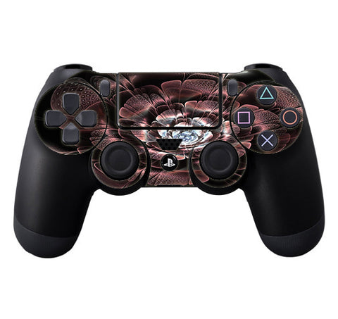 Abstract Rose Flower Sony Playstation PS4 Controller Skin