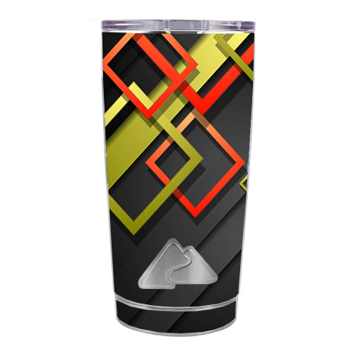 Tech Abstract Ozark Trail 20oz Tumbler Skin
