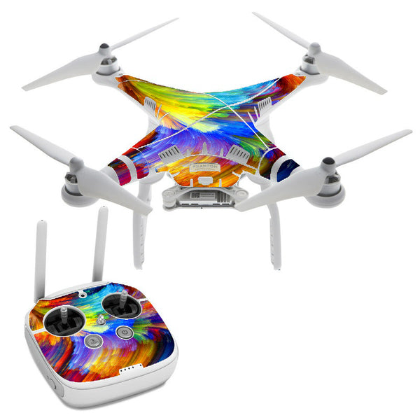 Watercolor Paint DJI Phantom 3 Professional Skin