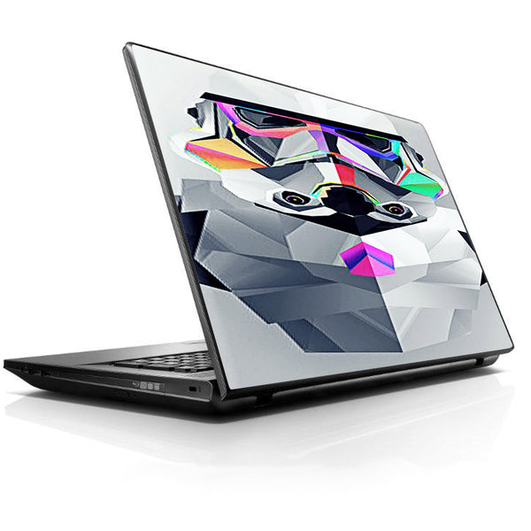Abstract Trooper Universal 13 to 16 inch wide laptop Skin