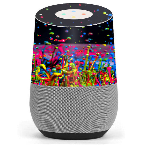 Splash Colorful Paint Google Home Skin