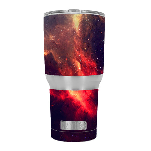 Space Clouds Galaxy RTIC 30oz Tumbler Skin