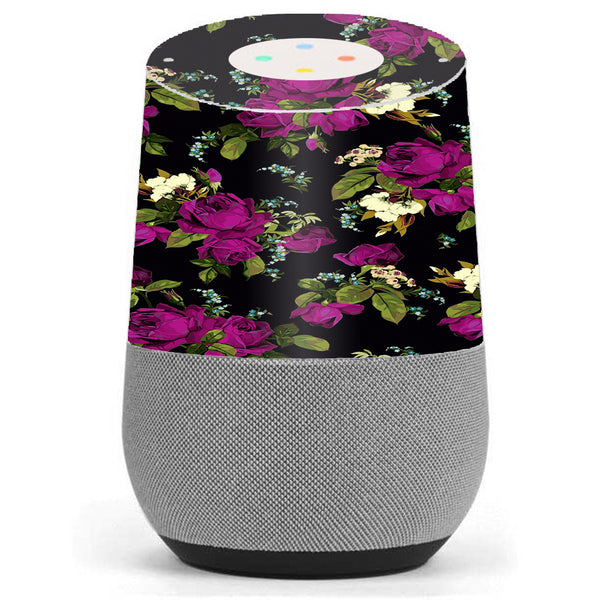 Rose Floral Trendy Google Home Skin