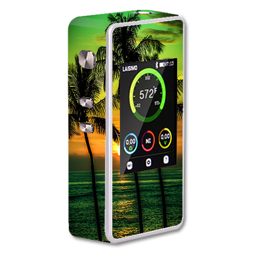 Sunset Palm Trees Ocean Laisimo L1 200w TC Skin
