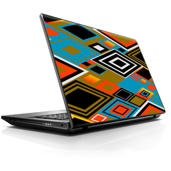 Retro Vintage Style Universal 13 to 16 inch wide laptop Skin
