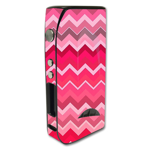 Red Pink Chevron Pioneer4You iPV5 200w Skin