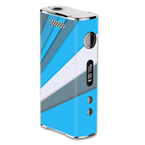 Blue Abstract Pattern eLeaf iStick 100W Skin