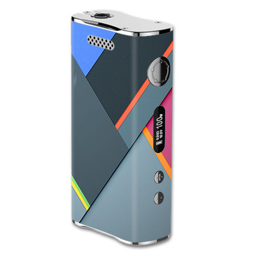 Grey Colors Plaid eLeaf iStick 100W Skin