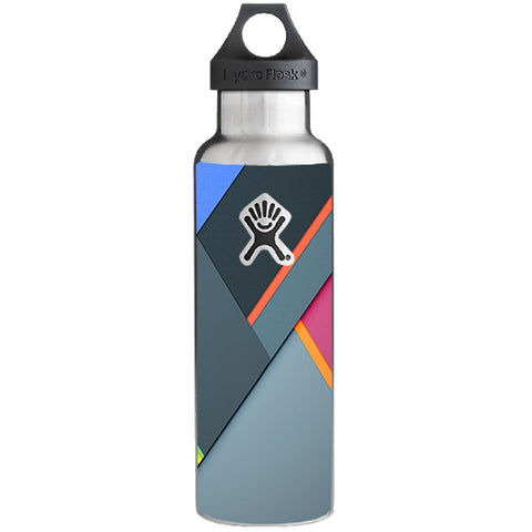 Grey Colors Plaid  Hydroflask 21oz Skin