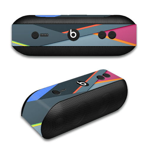 Grey Colors Plaid Beats by Dre Pill Plus Skin