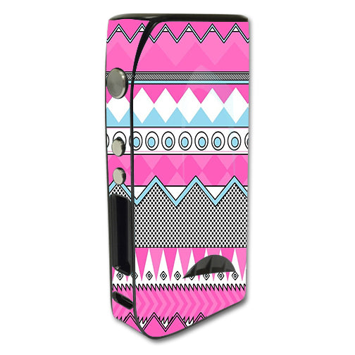 Pink Aztec Tribal Chevron Pioneer4You iPV5 200w Skin