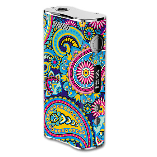 Colorful Paisley Mix eLeaf iStick 100W Skin