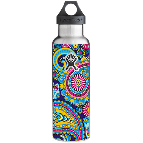 Colorful Paisley Mix Hydroflask 21oz Skin
