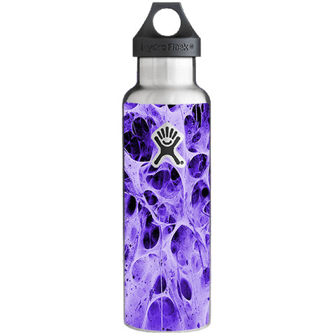 Neurons Purple Web Skin Weird Hydroflask 21oz Skin
